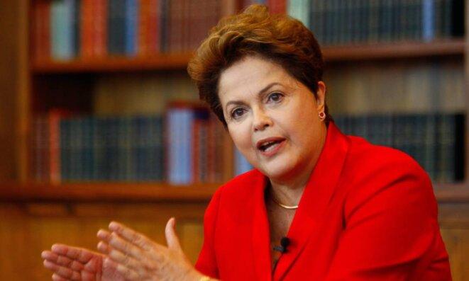 Dilma Rousseff, présidente du Brésil de 2011 à 2016. © Reuters