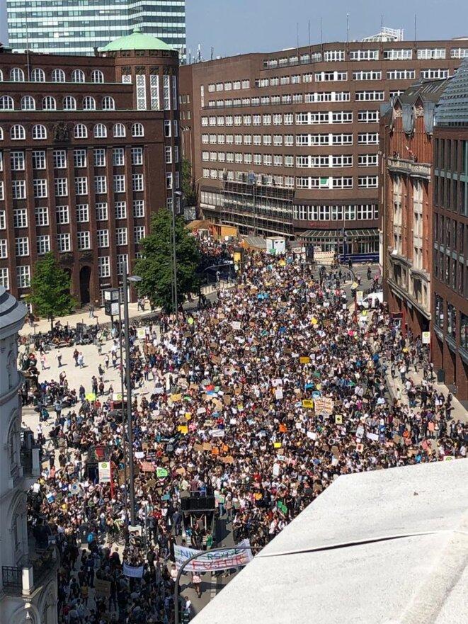 Manifestation «Friday for Future» du 24 mai 2019 à Hambourg © Arthur Devriendt