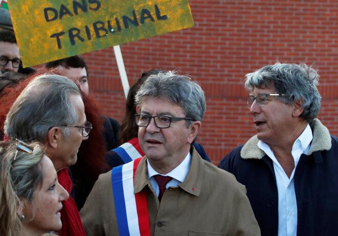 Arrivée au tribunal de Bobigny, le 19 septembre 2019. © Reuters