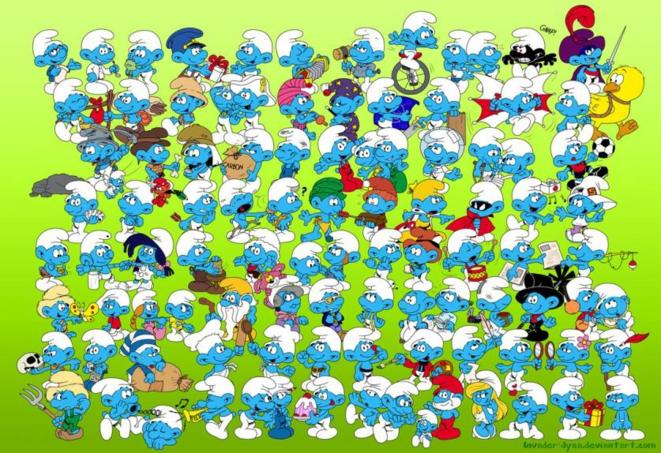 100-schtroumpfs