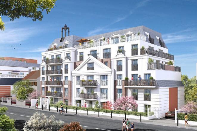 Projet immobilier Nexity au Blanc-Mesnil © Nexity