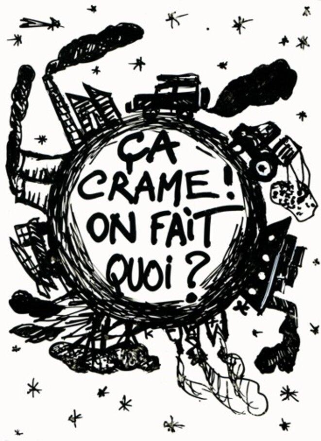 Ça crame, on fait quoi © Marcel Duchamp