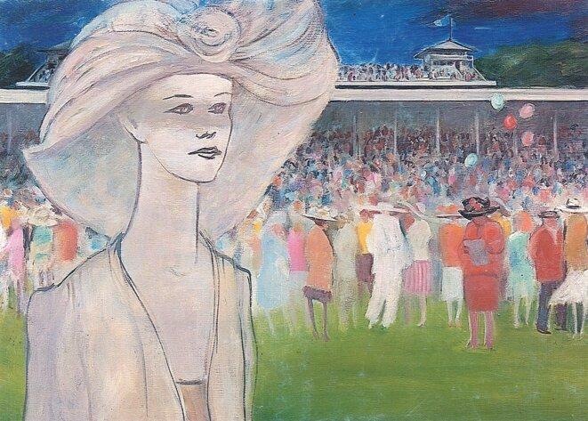 BABU, Aux courses, c.1990
