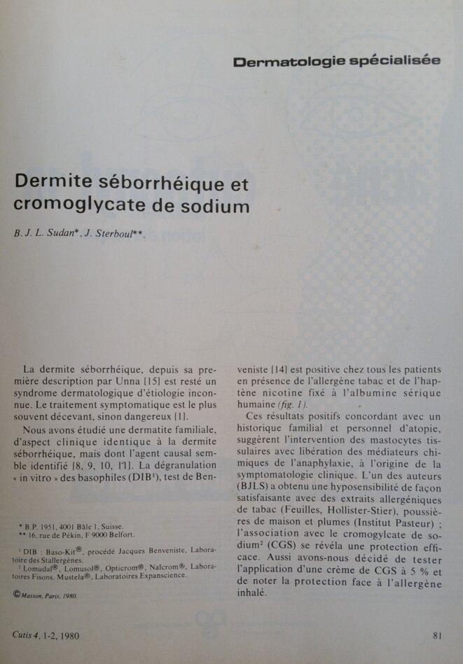 cutiscromoglycate