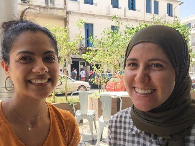 Selma Ayari et Mariem Ben Ltaifai