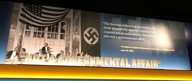 "Roosevelt : ""Not a governmental affair"""
