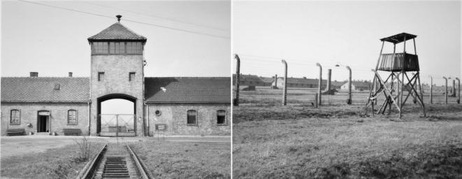 Camp d'extermination de Birkenau, rattaché à celui d'Auschwitz situé à proximité [Photo YF]