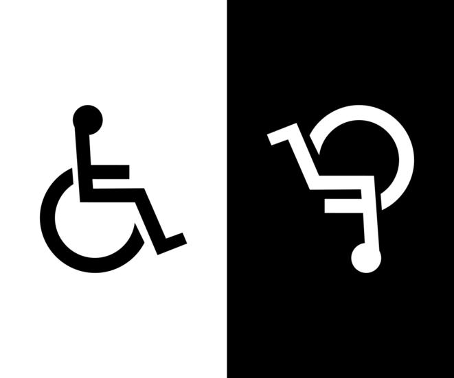 Deux représentations du handicap © Romain Cazé CC-BY