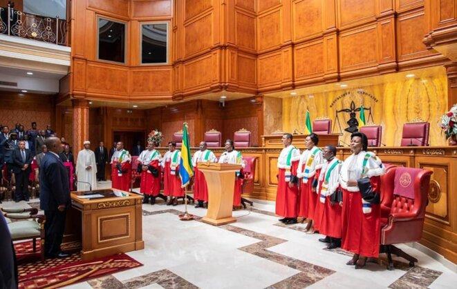 Ali Bongo Ondimba, Président de la République et Président du Conseil National de la Magistrature