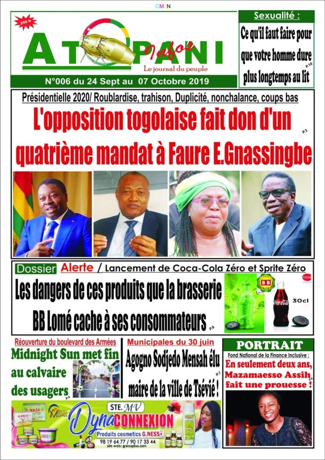 afr-togo-atopani-n-006-2019-09-24-opposition-togolaise-fait-don-4-mandat-a-faure