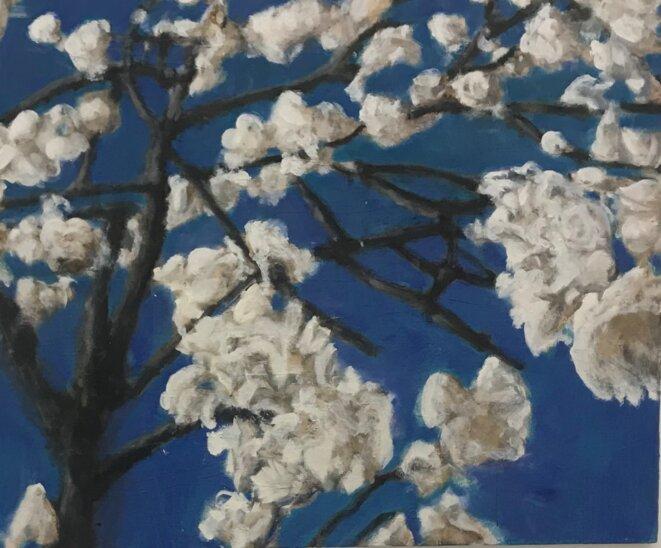 Cristof Yvoré, Sans titre, 2013, huile sur toile, 165;5 x 200 cm, collection FRAC Provence-Alpes-Côté d'azur, Marseille © Guillaume Lasserre