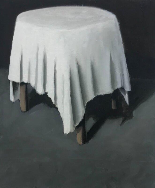 Cristof Yvoré, Sans titre, 2011, huile sur toile, 112 x 94,5 cm. © photo: Guillaume Lasserre, Courtesy Zeno X Gallery, Anvers