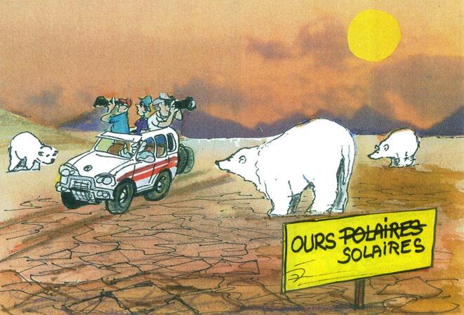 Réchauffement climatique © Calvi