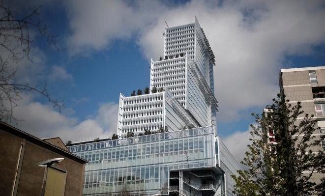 Le nouveau Palais de justice, à Paris. © Reuters