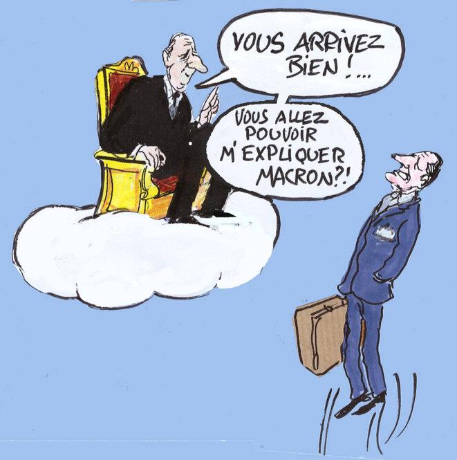 Jacques Chirac © Calvi