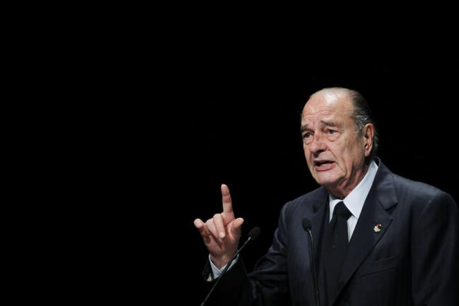 Jacques Chirac in December 2010. © Reuters