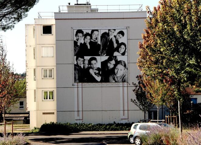 Dans le quartier du Garros, à Auch (Gers). © Emmanuel Riondé