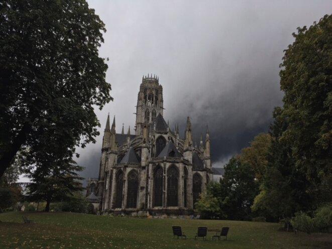 Rouen, 26 septembre 2019, abbatiale Saint-Ouen. © LAM