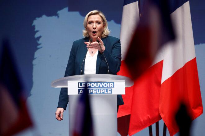 Marine Le Pen le 13 janvier 2019, à Paris. © Reuters