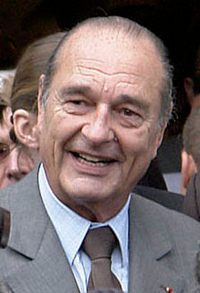Jacques Chirac en 2007 © Éric Pouhier/Wikimedia Commons, licence CC-BY-SA 2.5 Generic