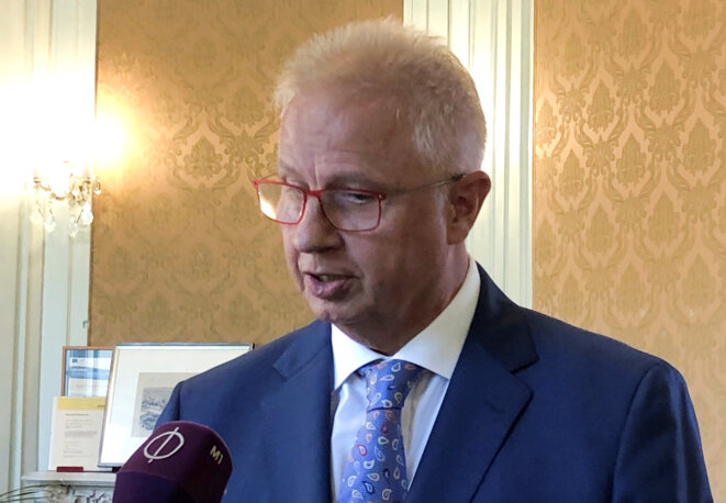 László Trócsányi le 20 septembre 2018 © Reuters