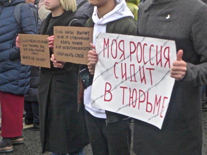 Ma Russie est en prison © CB