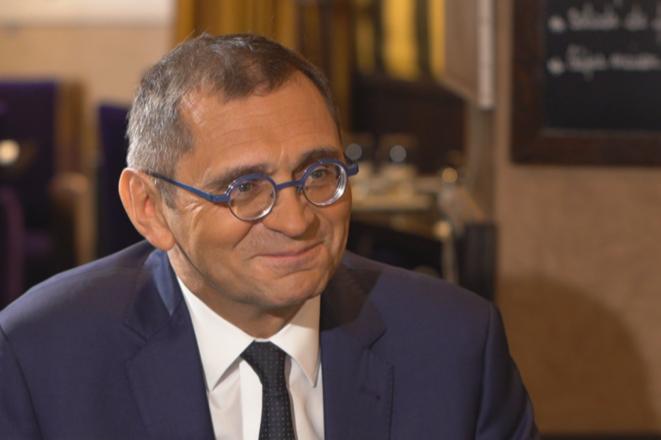 Le député Pierre Morel-À-L'Huissier, élu à l'Assemblée nationale depuis 2002. © LCP