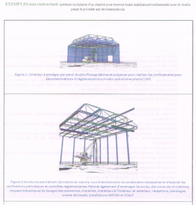 Modèle de confinement proposé au ministère de la culture par le bureau d'études de Jean, extrait du Livre blanc du Grand Paris. © Document Mediapart