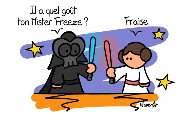 Inktober 2019 #4 : Mister Freeze (Star Wars) © Norb