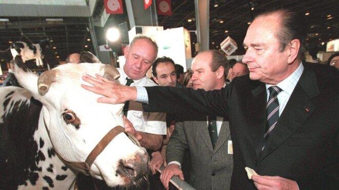 chirac-et-les-vaches