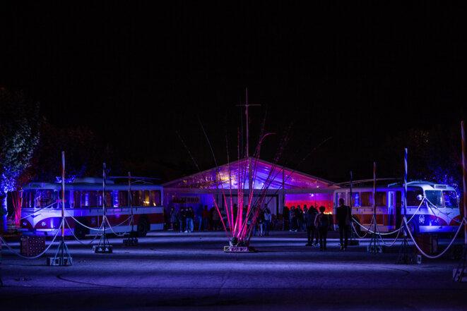 Le site du festival © Christophe Pean
