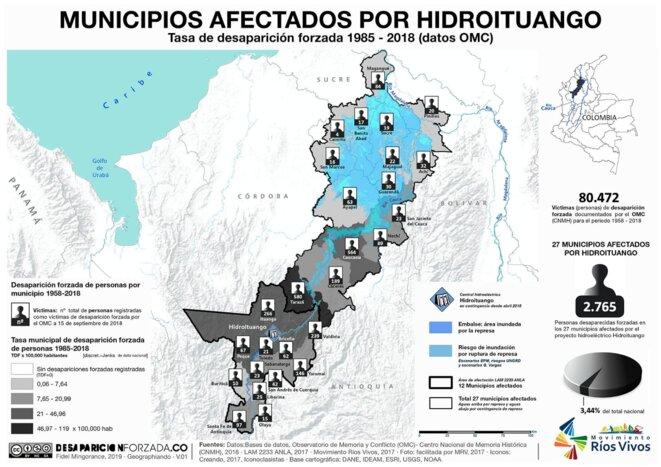 Desapariciones forzadas hidroituango colombia BNP