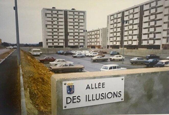 """Jacques Windenberger, Allée des illusions, exposition """"Libre échange"""" de Mohamed Bouroussia, Rencontres de la photographie, Arles, 2019. © Jacques Windenberger"""