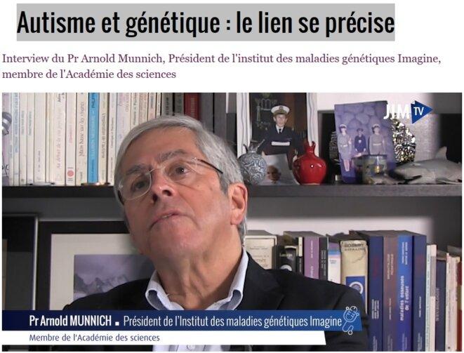 Autisme et génétique : Le lien se précise © Jean-Luc ROBERT - Psychologue