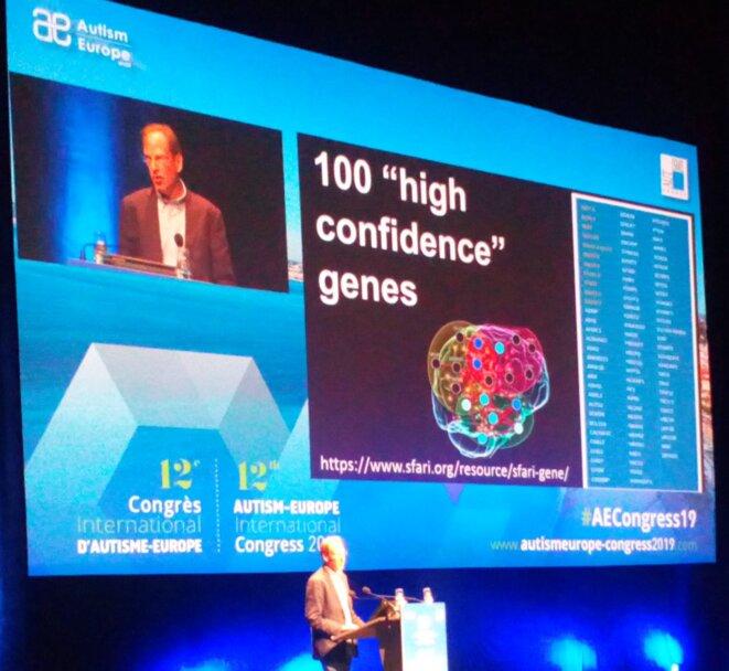 Simon Baron-Cohen au Congrès d'Autisme Europe - 13/09/2019