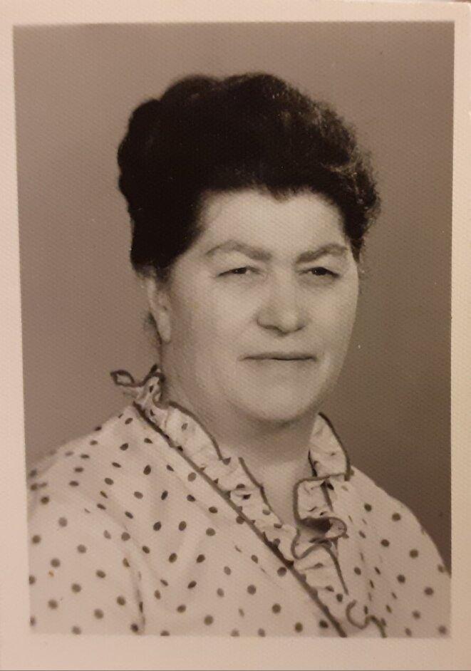 Stoča, à 61 ans. Elle gardera une crinière de jais jusqu'à un âge très avancé. © Caroline Pierre