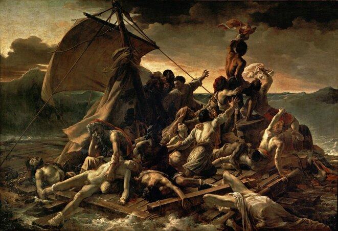 """""""Le Radeau de la Méduse"""" de Théodore Géricault"""