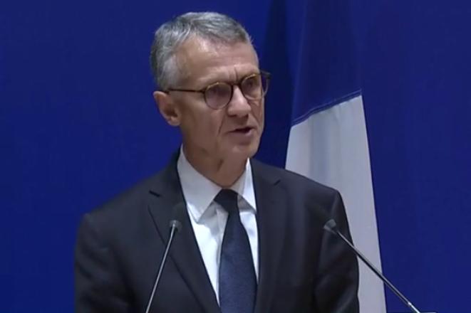 Jean-François Ricard, procureur national antiterroriste, lors de sa conférence de presse du samedi 5 octobre.