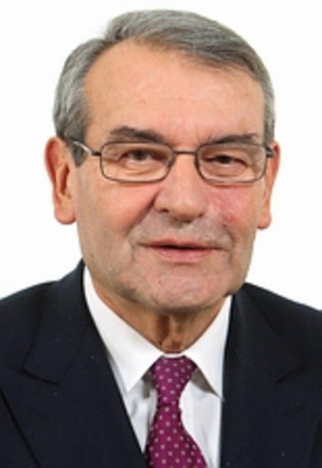 Gérard Dériot, né en 1944, a cumulé entre 1977 et 2021 plus d'un siècle de mandats. © Sénat
