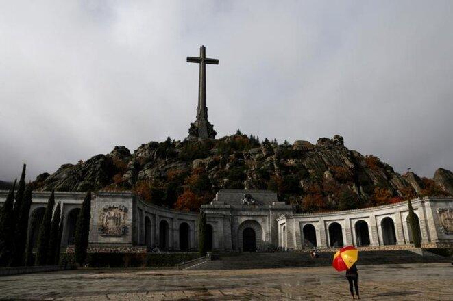 Le mausolée de « La Vallée de ceux qui sont tombés », près de Madrid, le 20 novembre 2018. © Reuters