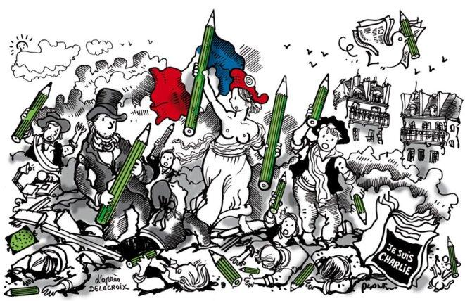 Liberté de la presse © Pierre Reynaud