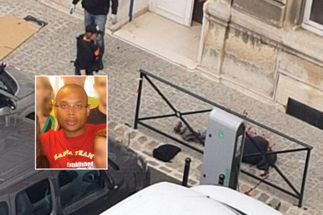 Mickaël HARPON fonctionnaire et assassin abattu par un policier stagiaire © X