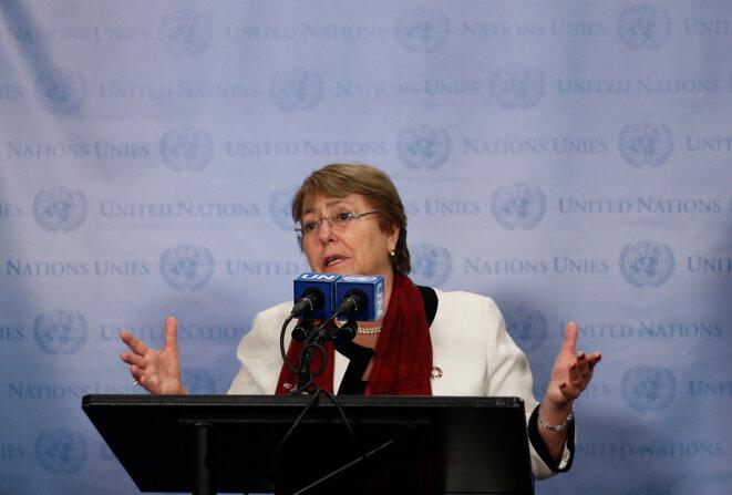 Michelle Bachelet, Alta comisaria de la ONU a los derechos humanos © Agencia Uno