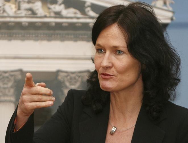 Eva Glawischnig-Piesczek fotografiada en 2007. Entonces diputada, la austriaca solicitó, sin éxito, a Facebook la retirada de contenidos insultantes.