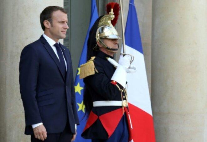 Emmanuel Macron © Pierre Reynaud
