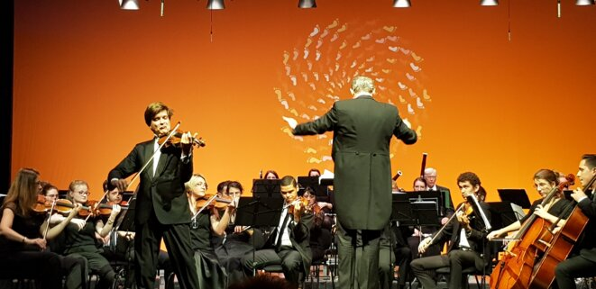 Concert du 2 oct. © Benjamin Joyeux
