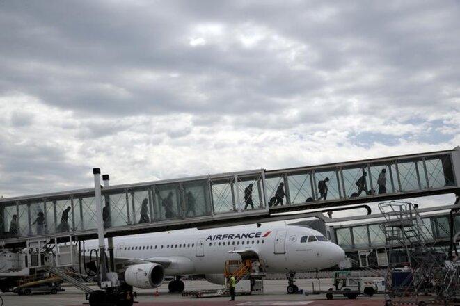 À l'aéroport de Roissy-Charles-de-Gaulle en juin 2019. © Reuters