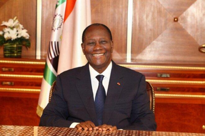S.E.M. Alassane Ouattara, Président de la République © Direction de l'Information et de la Communication de l'Assemblée Nationale