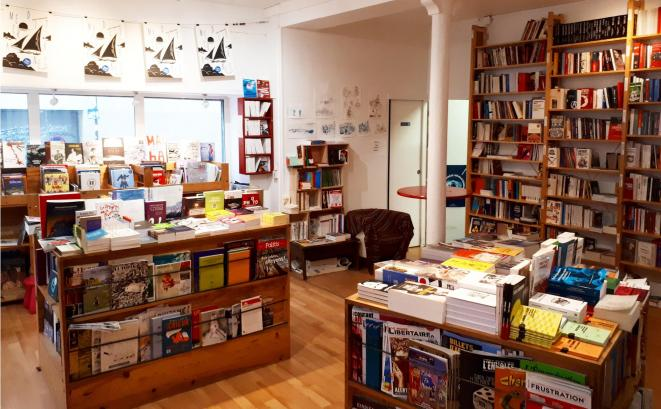 Photo Librairie Quilombo © Jacques Baujard