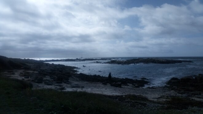 La côte devant l'université d'automne de l'ARAPI